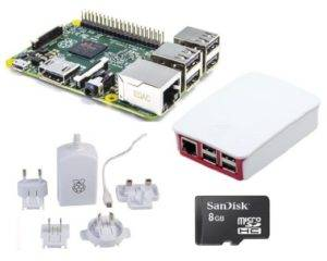 Raspberry Pi 2 Official 8 GB Desktop Starter Kit