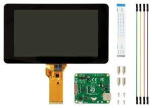 Ecran tactile officiel 7 pouces pour Raspberry Pi