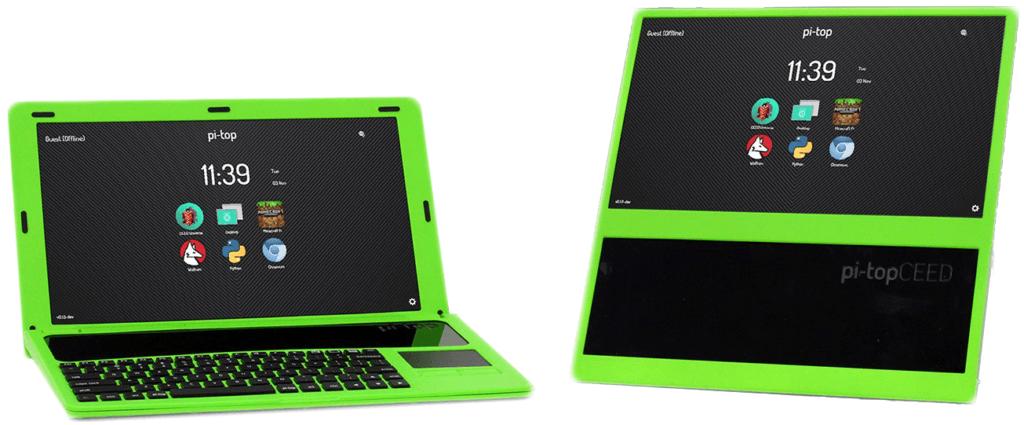 pi-top et pi-TopCEED, 2 bundles conçus pour intégrer la Raspberry Pi 3