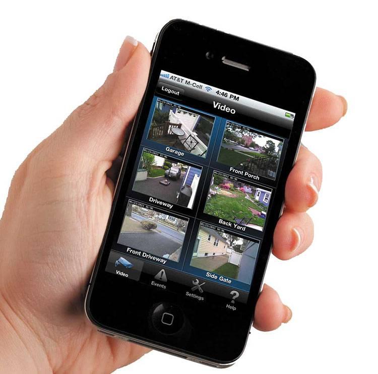 Surveillance vidéo sur smartphone