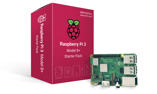 raspberry pi 3 b+ starter pack kit