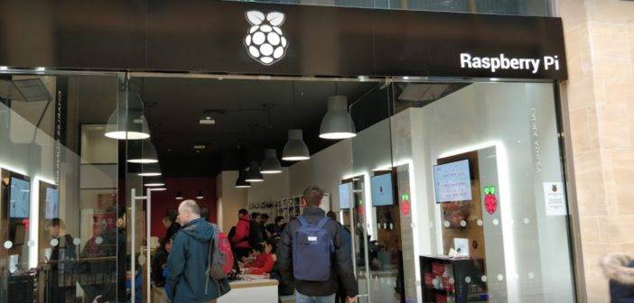 Un nouveau magasin Raspberry Pi à Cambridge