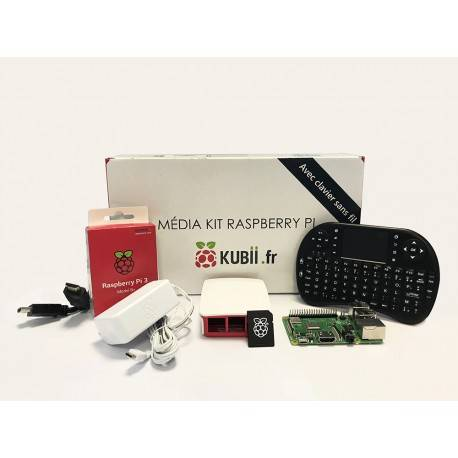Kit Raspberry Pi Media Center