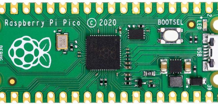 Raspberry Pi PICO la première carte microcontrôleur de la Fondation